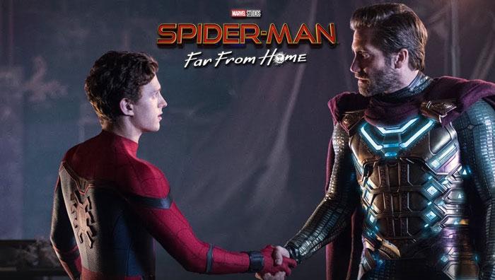 تاریخ اکران مرد عنکبوتی دور از خانه